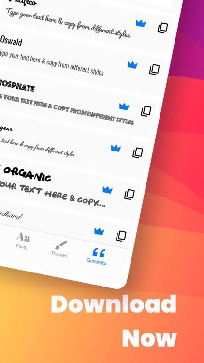Fonts App Keyboard & Themes screenshot-7