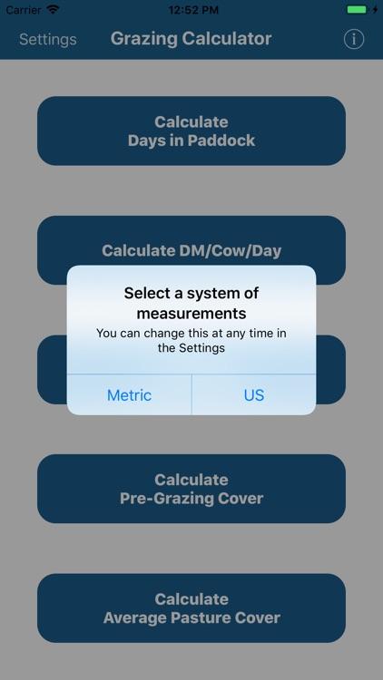 Grazing Calculator