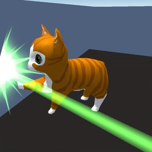 Laser Cat 3D