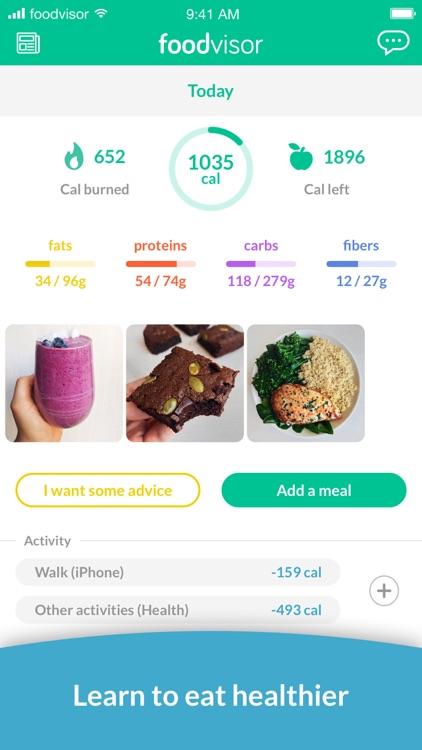 Foodvisor - Calorie Counter screenshot-0