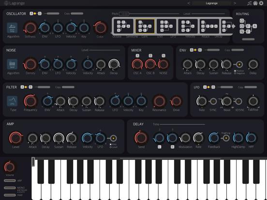 Lagrange - AUv3 Plugin Synth