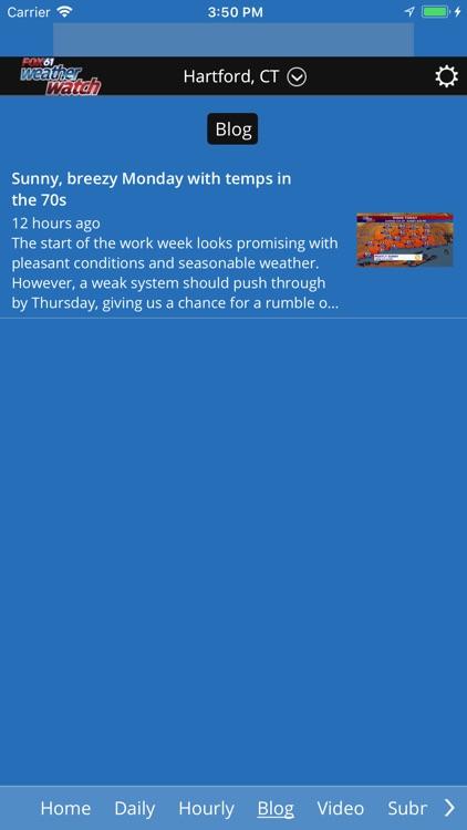 Fox61 Weather Watch screenshot-3