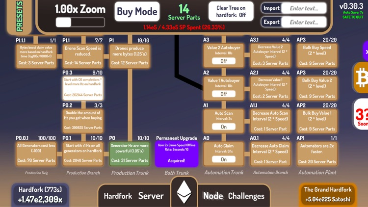 CryptoClickers: Idle Game screenshot-7