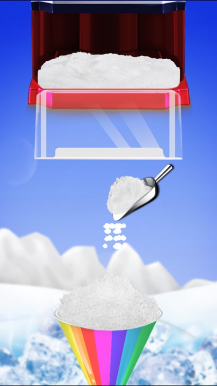 Snow Cone Maker -- Frozen Food screenshot-3