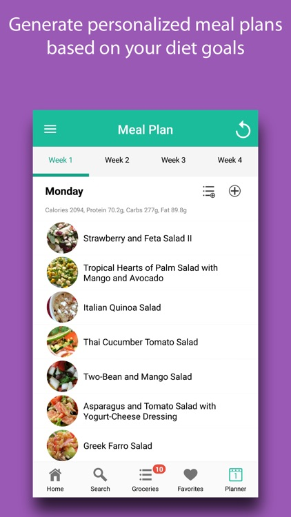 Salad Recipes & Meal Plans screenshot-5