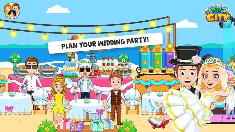 My City : Wedding Party screenshot-2