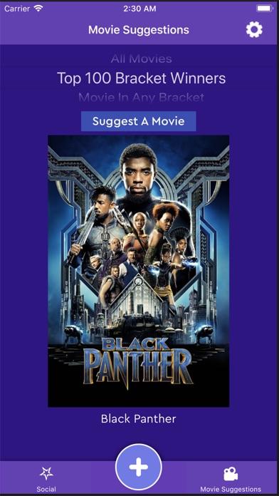 Movie Bracket app image