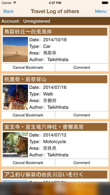 PockeTraveL - Travel tracker