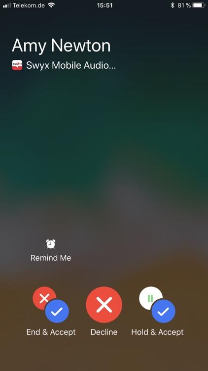 Swyx Mobile screenshot-3