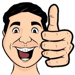 Thumbs Up Cartoon Emojis