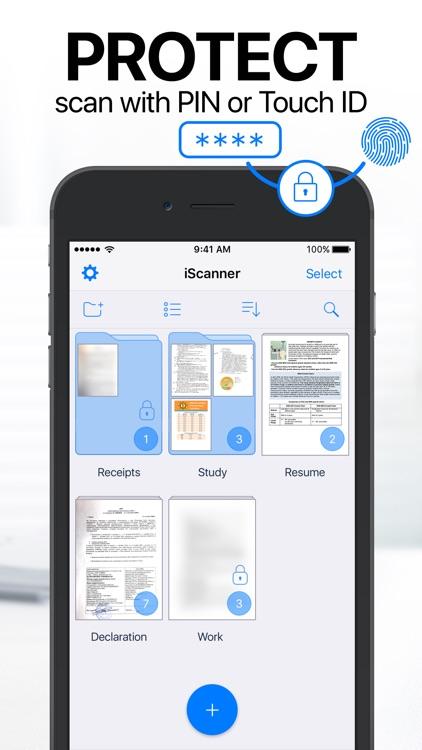 iScanner: PDF Document Scanner screenshot-4
