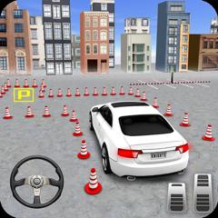 Modern Car 3d Drive Parking