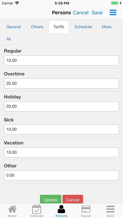 Nano Employee Timesheet screenshot-4