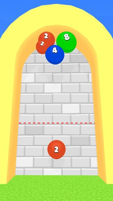 2048 Balloons 3D screenshot 1