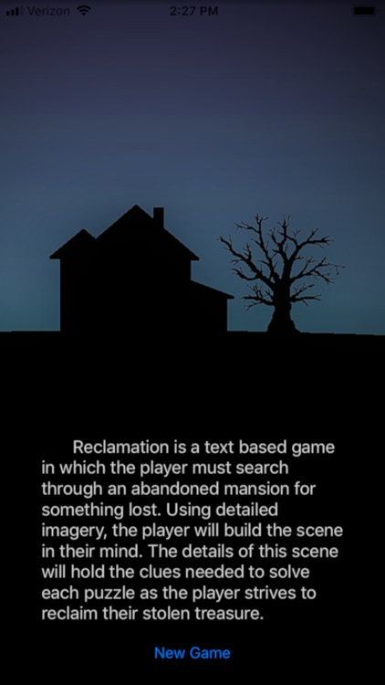 Reclamation Puzzle