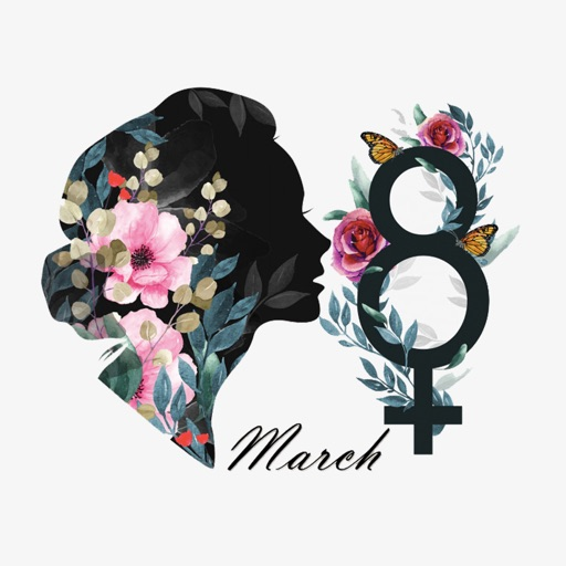 Strong Women's Day Stickers