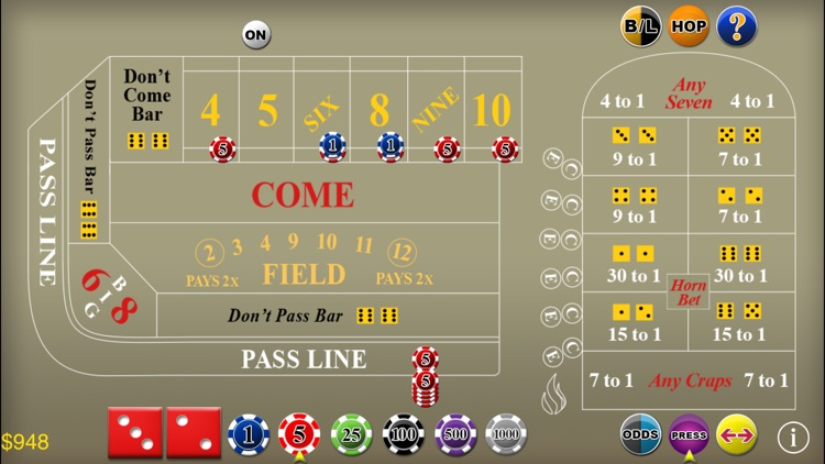 Craps Deluxe screenshot-2