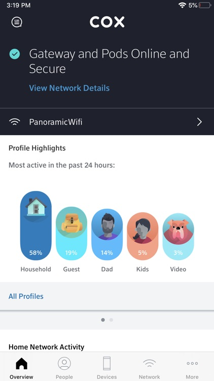 Cox Panoramic Wifi