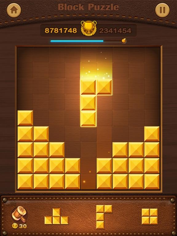 Wood Puzzle - Block Pop на iPad