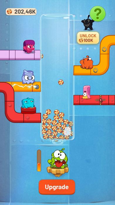 Om Nom Idle Candy Factory screenshot 2