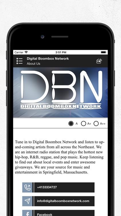 Digital Boombox Network USA screenshot-3