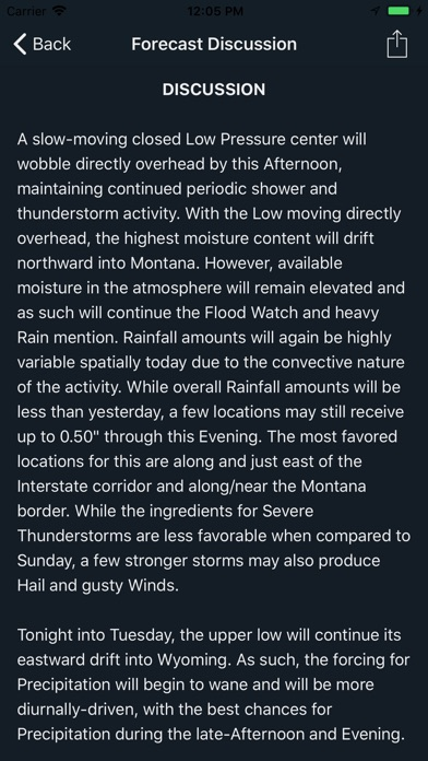Deep Weather Screenshot