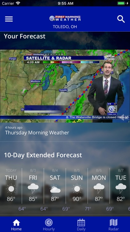13abc First Warning Weather screenshot-1