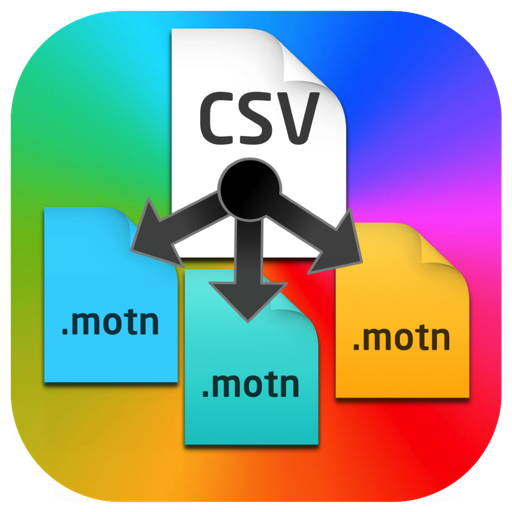 Csv to Motn Generator for Mac