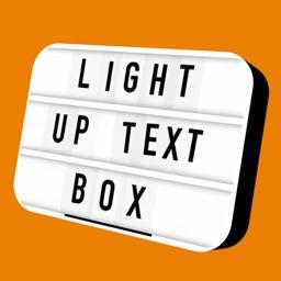 Light Up Text Box