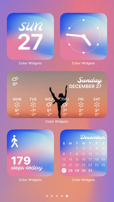 messages.download Color Widgets software