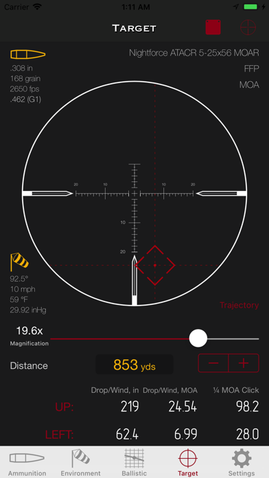 SBC - Ballistic Calculator app by Vitalii Gryniuk (iOS