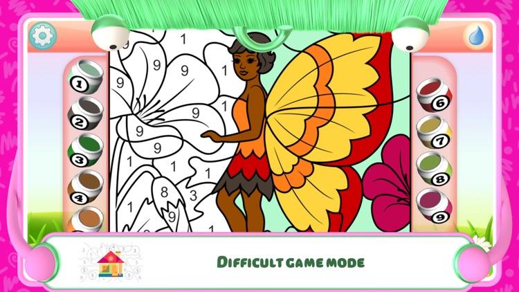Fairies Coloring Book + screenshot-3