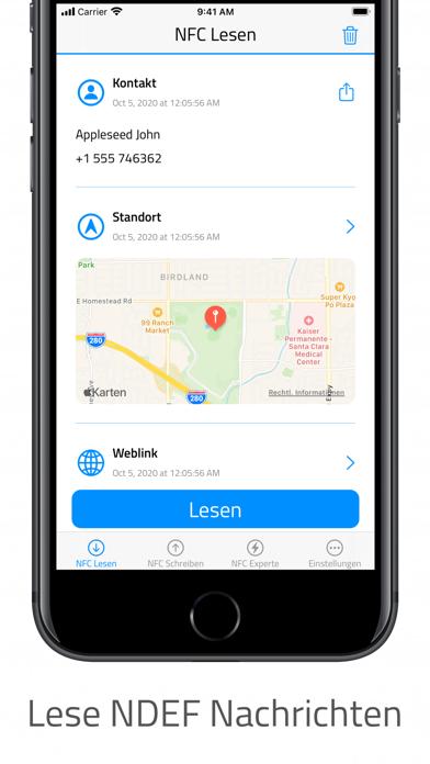 NFC für iPhoneScreenshot von 1