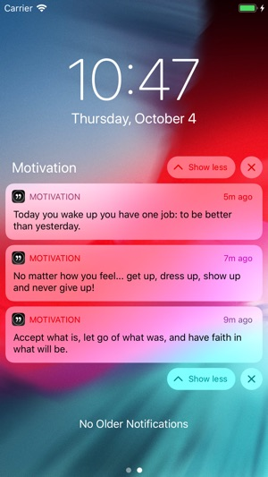 motivation quotes daily quote をapp storeで