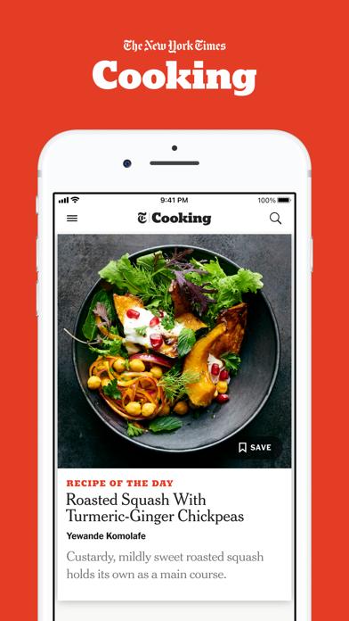NYT Cooking Screenshot