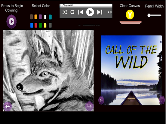 Call of the Wild - Coloring screenshot 4
