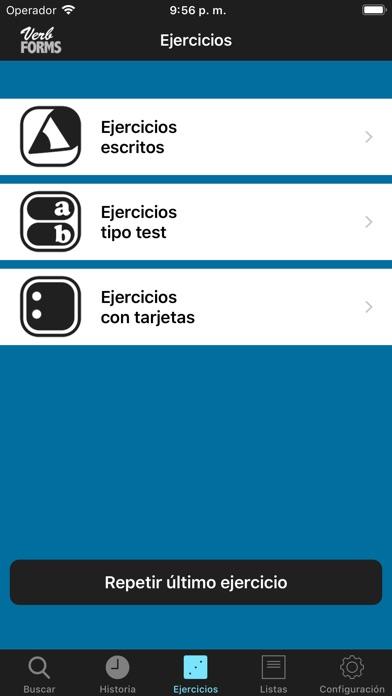 Screenshot for VerbForms Français in Ecuador App Store