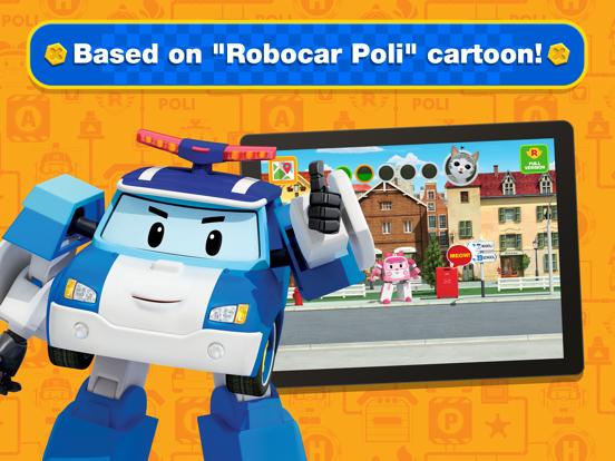Ipad Screen Shot Robocar Poli: Rescue City Cars 6