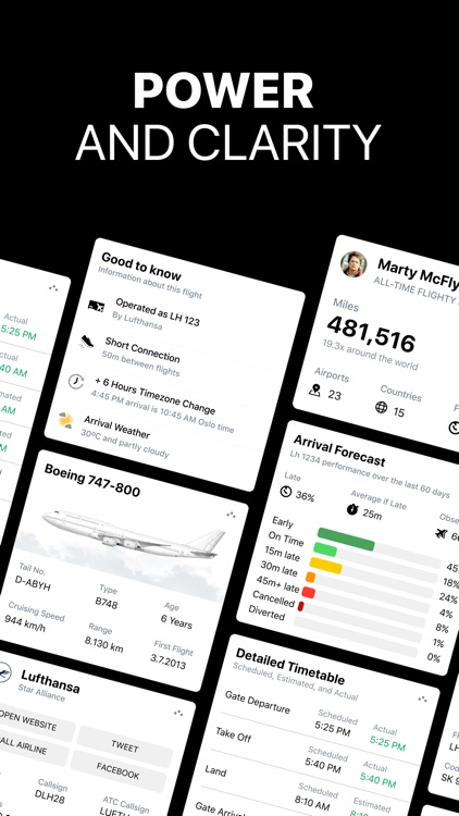 Flighty - Live Flight Tracker screenshot-9