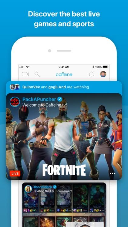 Caffeine: Live Games & Sports
