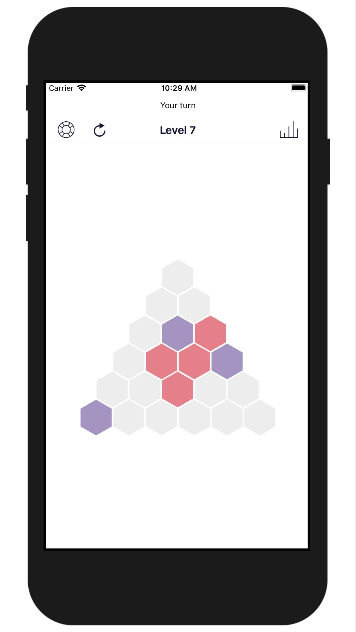 Screenshot do app Triangle - Strategy Game