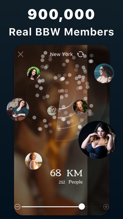 Curvy–BBWDatingHookupApp screenshot-0
