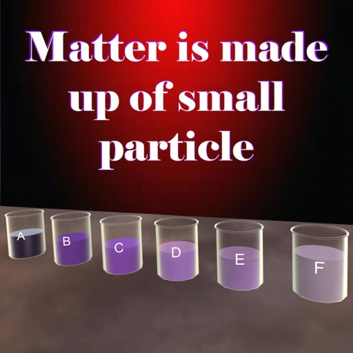 Matter has small particles