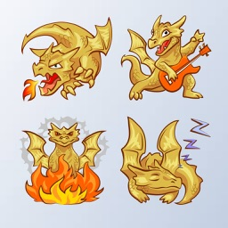 Dragon Emoji Stickers