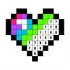 番号でぬりえ: ピクセル着色ゲーム