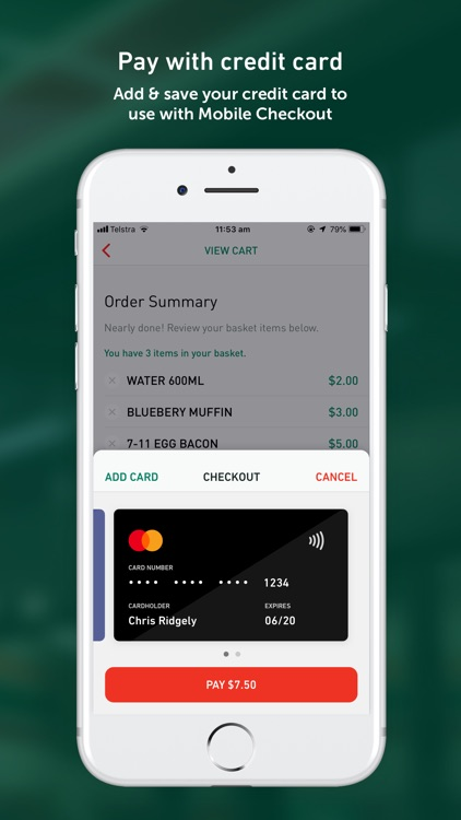 7-Eleven Mobile Checkout screenshot-3