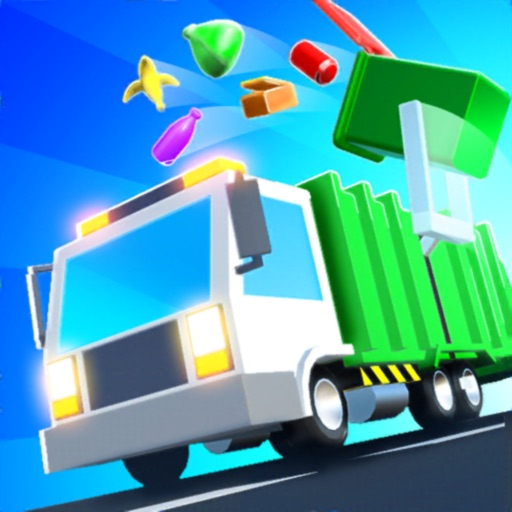 Garbage Truck 3D!!! free software for iPhone and iPad