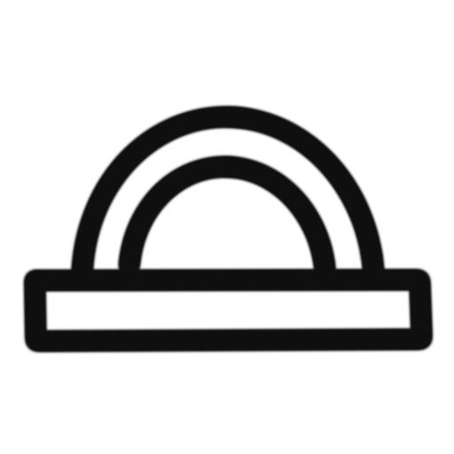Protractor (Virtual & Simple) icon