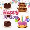 点击获取Birthday Cake Builder Sticker
