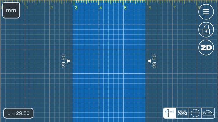 Millimeter Pro - screen ruler screenshot-3